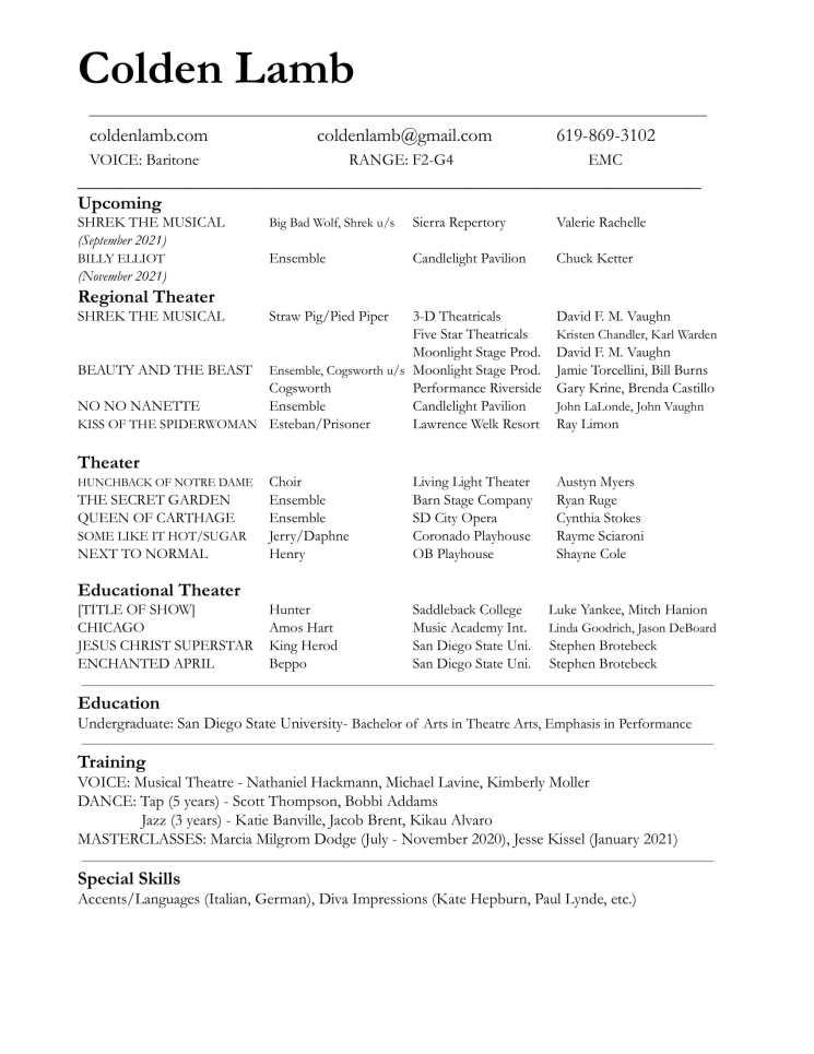 Colden Lamb Fall Resume-1